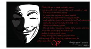 For Vendetta Mask Wallpaper Quotes V For Vendetta Wallpaper