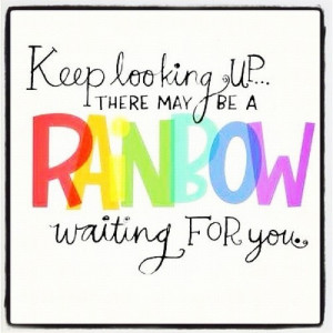 Rainbow inspiring quotes