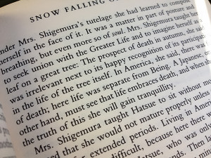 Book Review: Snow Falling on Cedars