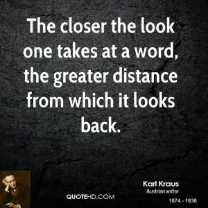Karl Kraus Quotes