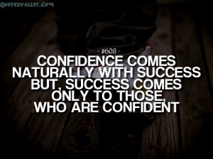 quotes about confidence in yourself