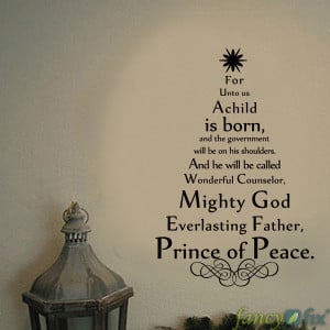Christmas Tree Quotes Wall Sticker Holiday Decoration Vinyl Wall Decal ...