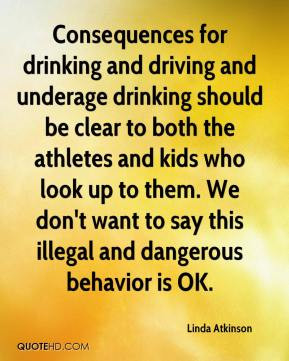 the negative consequences of drinking and driving For drivers under 21, the us has a no tolerance policy that does not allow any  alcohol to be in the blood system while behind the wheel the consequences.