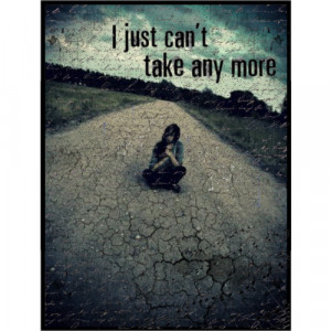 can't take anymore - Polyvore