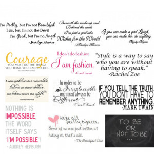 Cool Quotes - Polyvore