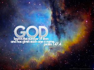 Psalm 147:4 Universe HD Wallpaper