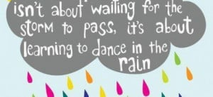Inspirational Quotes Rain Short...