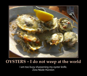 Oyster Jokes And One Liners...