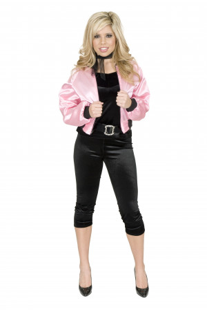 Pink Dolls 50s Grease Large 14 – 16 Ladies Printed Jacket Costume