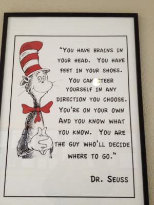 """There is a great quote """" If you don't know where you are going ..."""