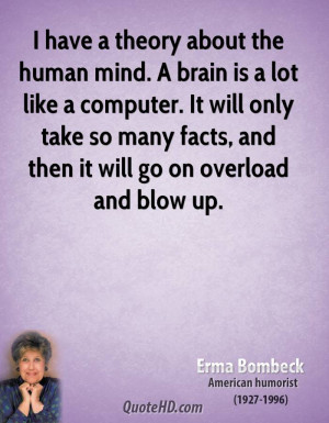 Quotes About the Human Brain