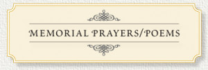 Our collection of prayers and poems express warm sentiments and words ...