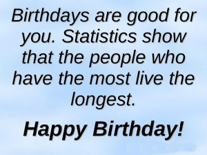 Funny Birthday Quotes and Birthday wishes Quote – Happy Birthday ...