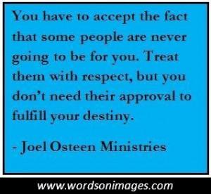 Joel Osteen Inspirational Quotes