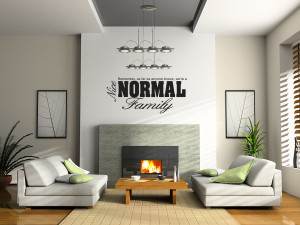 Nice-Normal-Family-Wall-Quote-Sticker-Decal-Funny-Home-Decor ...