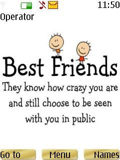 Best Friends Theme Mobile Theme