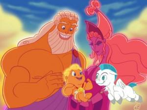 Hercules Zeus Hera Pegasus...
