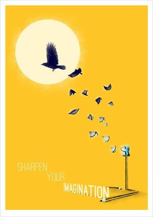Posters with quotes of famous people 12 Creative Illustration Posters ...
