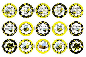 CUTE Bumble Bee digital image sheet for by GelisCreations on Etsy, $1 ...
