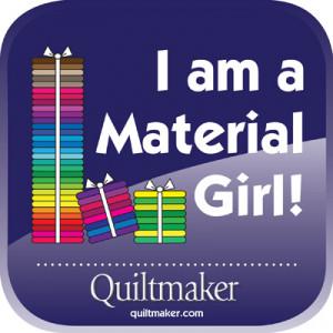 am a Material Girl