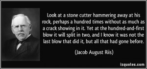 More Jacob August Riis Quotes