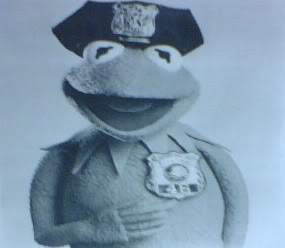 kermit the police officer Image