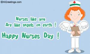 Happy nurses day to all nurses around the world!!