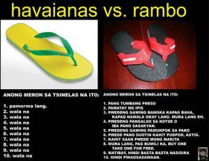 Nakakatawang Quotes http://www.jokeskopo.com/2012/06/havaianas-vs ...