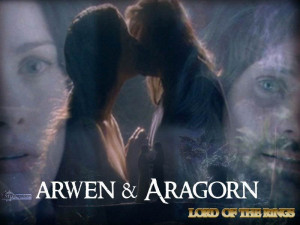 Lord of the Rings Aragorn and Arwen