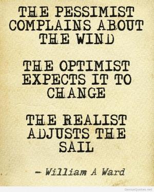 Pessimist and optimist quotes