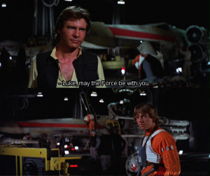 This is my favorite Han Solo moment from the movies.