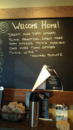 Starbucks inspiration