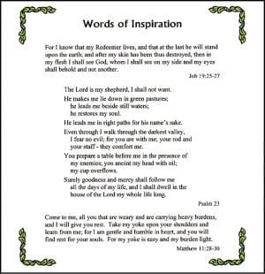 My inspiration essay