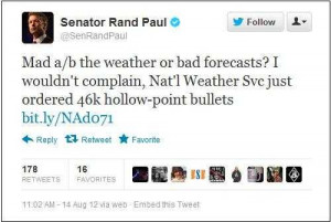 EPIC FAIL: Sen. Rand Paul gets fooled by Truthers. Conspiracy ...