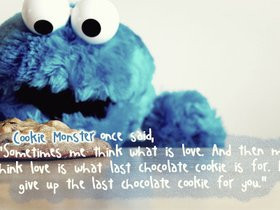 Quotes Sayings Cookie Monster...