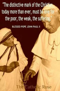 Blessed Pope John Paul II. Quotes. Catholic More
