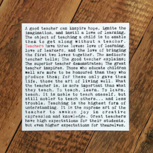 Teacher Card - Thank You Teacher Card - Card For Teacher - Bl... More