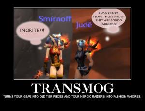 My World of Warcraft avatar... Fun Transmog in WOW ;)