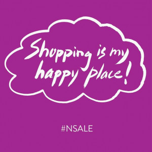 Shopping is my happy place.