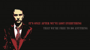 Fight Club quote Wallpaper