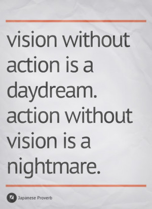 Motivational Image – Vision & Action