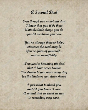 Step dad poem