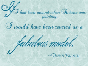 Dawn French quote