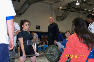Serious power lifting females tend not to be the nicest, olympic type ...