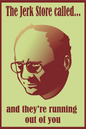George Costanza quote posters