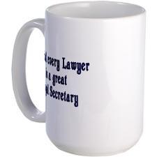 Legal Secretary Large Mug for