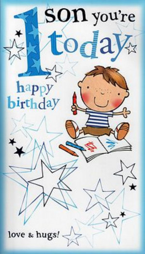 Th Birthday Cards For My Son ~ Happy th birthday son quotes quotesgram