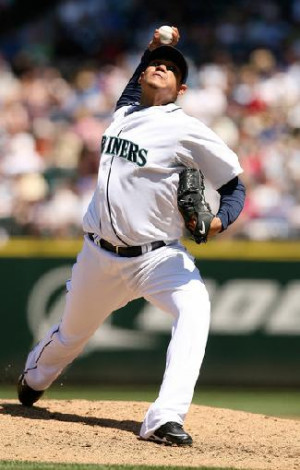 Felix Hernandez Pitching