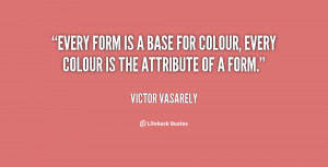 VICTOR VASARELY QUOTES image quotes at BuzzQuotes.com