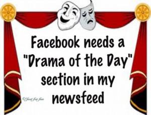Drama Facebook Status Paper...